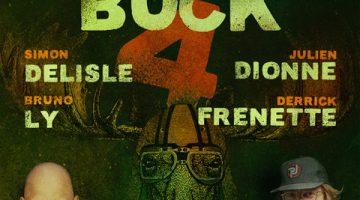 LE GALA D'HUMOUR DU GROS BUCK 4 AU QG avec Simon Delisle, Julien Dionne, Bruno Ly et Derrick Frenette
