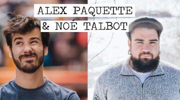 Noé Talbot, Alex Paquette et Hands Solo à Rouyn-Noranda